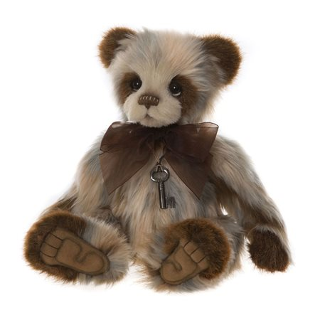 Charlie Bears Candice Plush Collection Brown  - Click to view a larger image