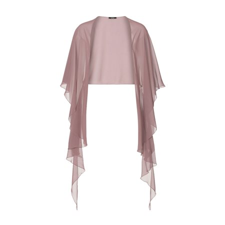 Vera Mont Chiffon Stole Dark Pink  - Click to view a larger image