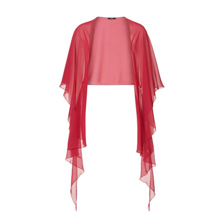 Vera Mont Chiffon Stole Pink  - Click to view a larger image