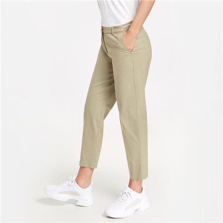 Gerry Weber 7/8 Trousers Beige  - Click to view a larger image