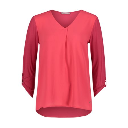 Betty & Co Blouse Top Red  - Click to view a larger image