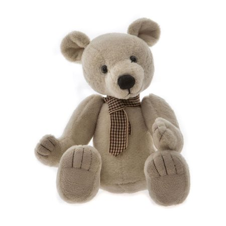 Charlie Bears Globetrotter Plush Collection Beige  - Click to view a larger image
