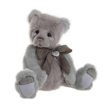 Charlie Bears Shelby Plush Collection Grey  - Click to view a larger image