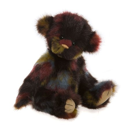 Charlie Bears Splodge Plush Collection Red  - Click to view a larger image