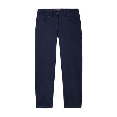 Sandwich Cropped Trousers Blue  - Click to view a larger image