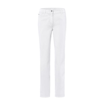 Olsen Lisa Denim Jeans White  - Click to view a larger image