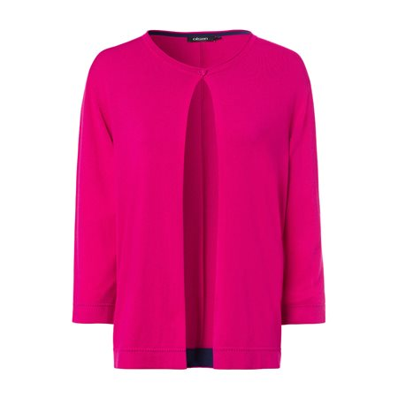 Olsen Button Cardigan Pink  - Click to view a larger image