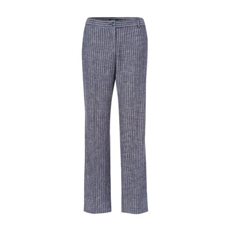 Olsen Mona Linen Trouser Blue  - Click to view a larger image