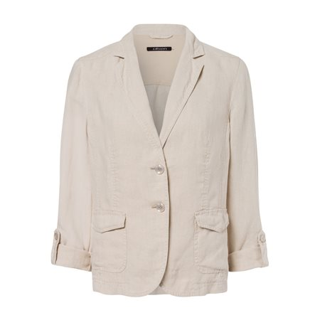 Olsen Linen Jacket Beige  - Click to view a larger image