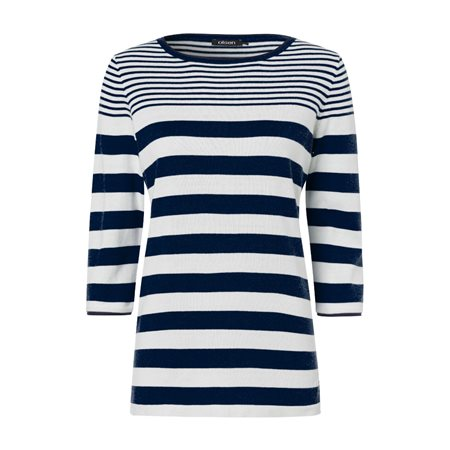 Olsen Cotton Jumper Blue  - Click to view a larger image