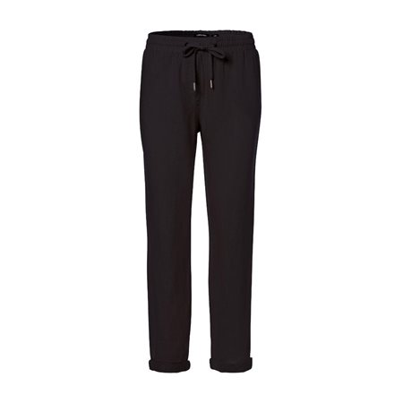 Olsen Lisa Linen Trousers Black  - Click to view a larger image