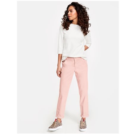 Taifun 7/8 Length Chinos Pink  - Click to view a larger image