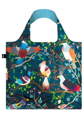Loqi Hvass & Hannibal Birds Bag Navy  - Click to view a larger image