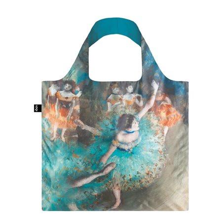 Loqi Edgar Degas Swaying Dancer 1877-79 Bag Blue  - Click to view a larger image