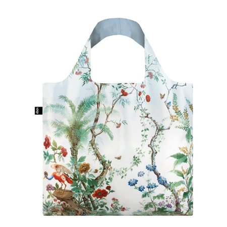 Loqi Mad Chinese Decor Bag White  - Click to view a larger image