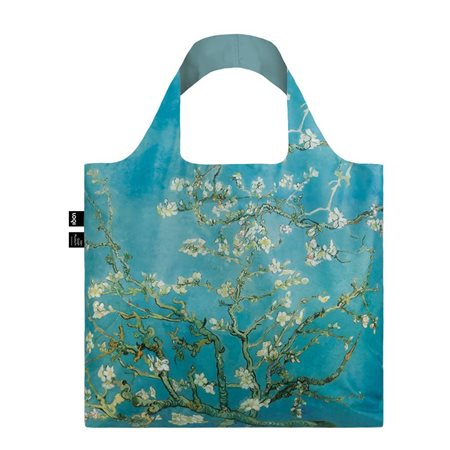 Loqi Van Gogh Almond Blossom Bag Blue  - Click to view a larger image
