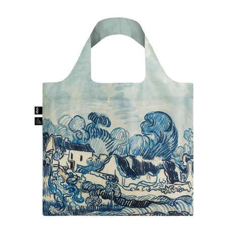 Loqi Van Gogh Old Vineyard And Landscape Bag Blue  - Click to view a larger image