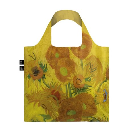 Loqi Van Gogh Sunflowers Bag Yellow  - Click to view a larger image