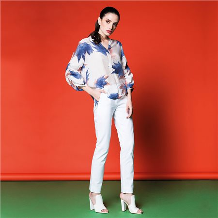 Anonyme Anna Blouse White  - Click to view a larger image