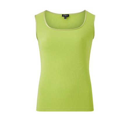 Emreco Vest Top Lime  - Click to view a larger image
