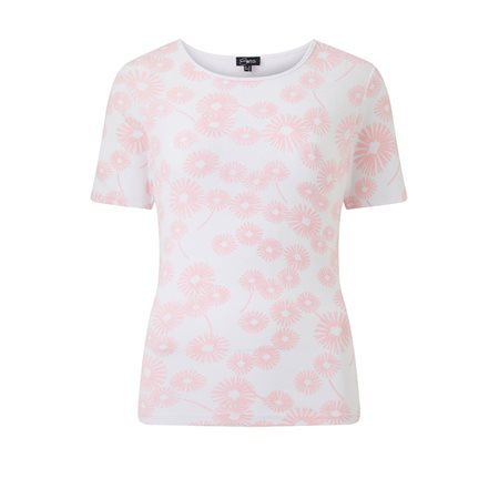 Emreco Floral Top Blush  - Click to view a larger image