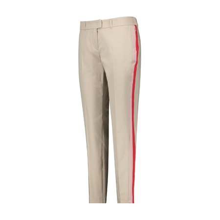 Taifun Carina Stripe Trouser Beige  - Click to view a larger image