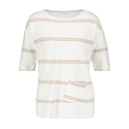 Gerry Weber Boxy Jumper Beige  - Click to view a larger image
