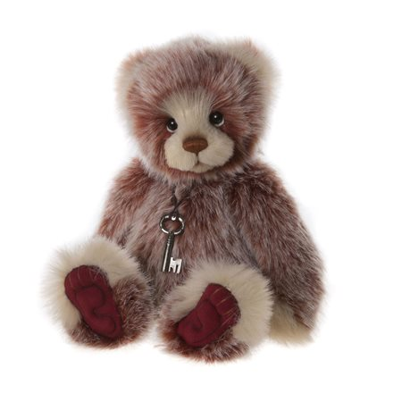 Charlie Bears Bakewell Plush Collection Red  - Click to view a larger image