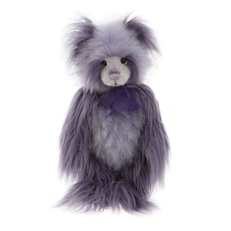 Charlie Bears Year Bear 2019 Plush Collection Purple  - Click to view a larger image