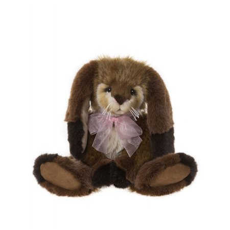 Charlie Bears Carrots Bearhouse Collection Brown  - Click to view a larger image