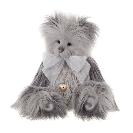 Charlie Bears Joanne Plush Collection Grey  - Click to view a larger image