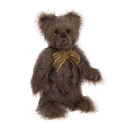 Charlie Bears Shrimpy Plush Collection Brown  - Click to view a larger image