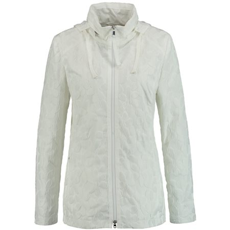 Gerry Weber Floral Patterned Outdoor Jacket White  - Click to view a larger image