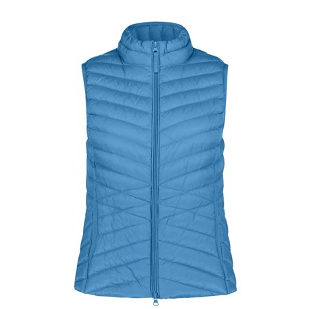 Betty Barclay Zipped Body Warmer Blue  - Click to view a larger image