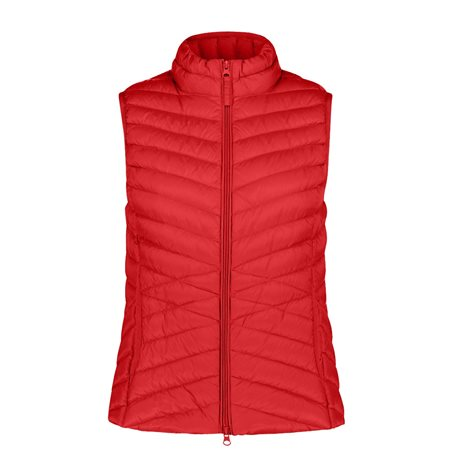 Betty Barclay Zipped Body Warmer Red  - Click to view a larger image