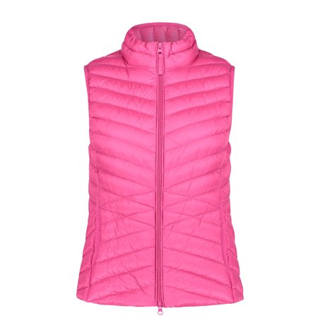 Betty Barclay Zipped Body Warmer Pink  - Click to view a larger image