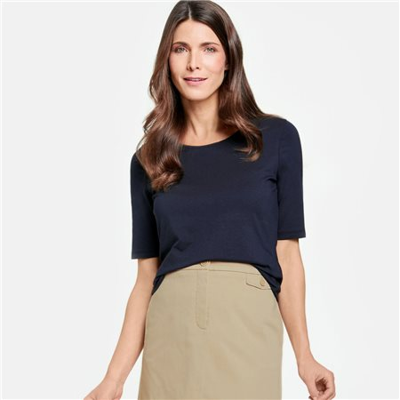 Gerry Weber Essential Top Navy  - Click to view a larger image