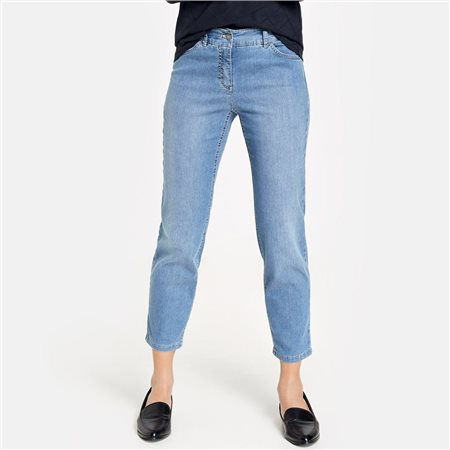 Gerry Weber Best4me 7/8 Crop Jeans Blue  - Click to view a larger image