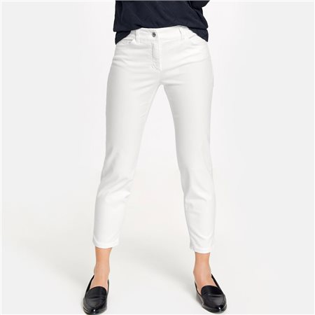 Gerry Weber Best4me 7/8 Crop Jeans White  - Click to view a larger image