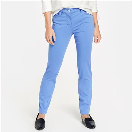 Gerry Weber Five Pocket Trousers Blue  - Click to view a larger image