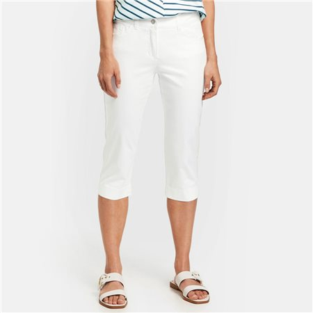 Gerry Weber Best 4 Me Capri White  - Click to view a larger image