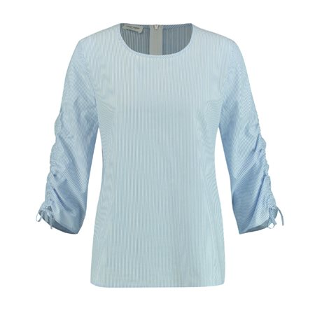 Gerry Weber Striped Blouse Blue  - Click to view a larger image