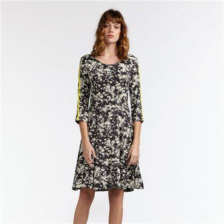 Sandwich Elegant Millefleur Dress Grey  - Click to view a larger image