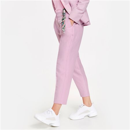 Gerry Weber Cropped Trousers Lilac  - Click to view a larger image