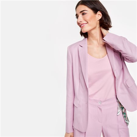 Gerry Weber Blazer With Pocket Square Lilac  - Click to view a larger image