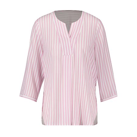 Gerry Weber Striped Tunic Pink  - Click to view a larger image