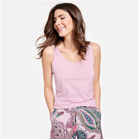 Gerry Weber Vest Top Lilac  - Click to view a larger image