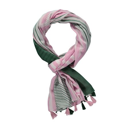 Gerry Weber Tassle Scarf Green  - Click to view a larger image