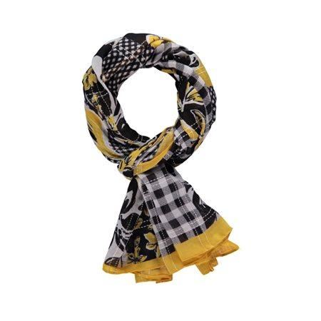 Gerry Weber Check Scarf Black  - Click to view a larger image