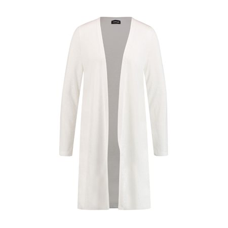 Taifun Long Sleeve Cardigan White  - Click to view a larger image